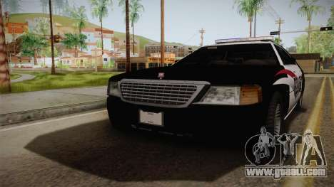 Dundreary Admiral Police 2009 for GTA San Andreas