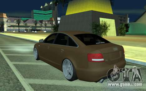Audi A6 STANCE for GTA San Andreas left view