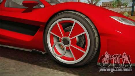 GTA 5 Progen Anubis for GTA San Andreas back view