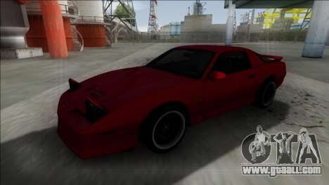 Pontiac Trans AM for GTA San Andreas right view