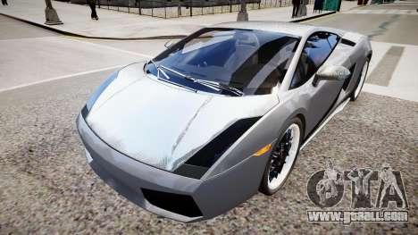 Lamborghini Gallardo Superleggera Custom 2007 for GTA 4 right view