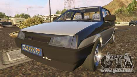 GTA 5 VAZ-21099 back view