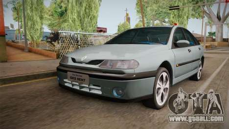 Renault Laguna for GTA San Andreas back left view