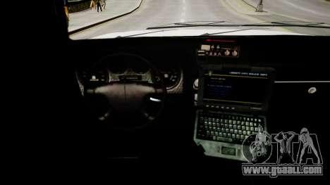 Declasse Police Ranger for GTA 4 inner view