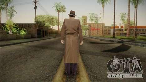 Mafia - Paulie Coat for GTA San Andreas third screenshot