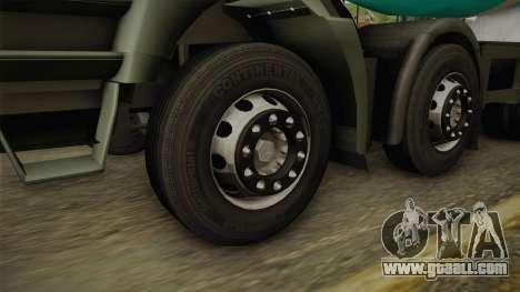 Iveco Trakker Hi-Land Cement Mixer 8x4 v3.0 for GTA San Andreas right view