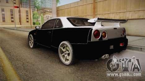 Nissan Skyline Tunable Pro Street v2 for GTA San Andreas