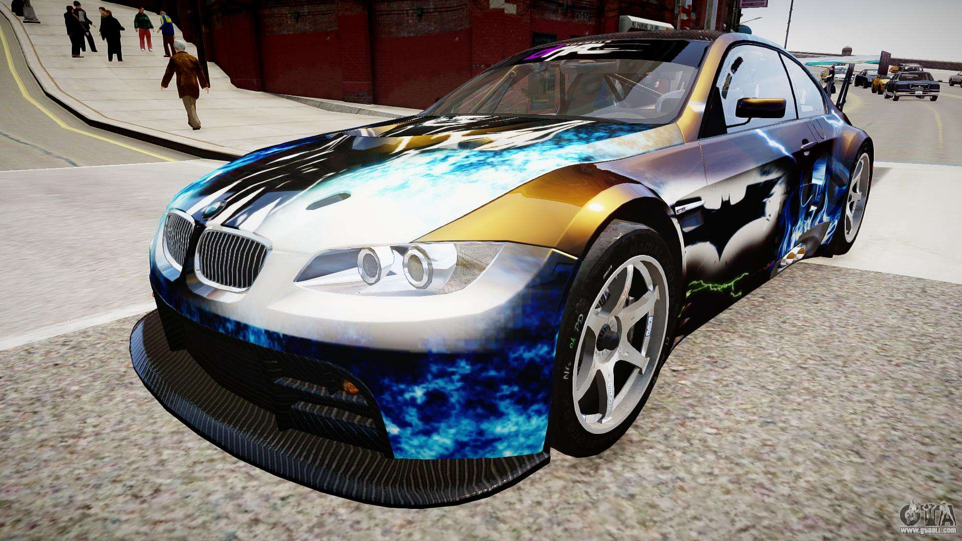 BMW M3 GT2 Ultimate Drift for GTA 4