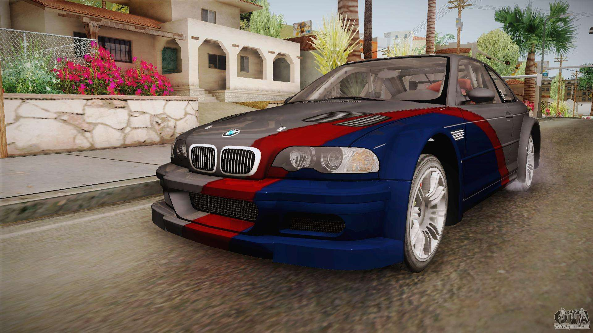 nfs mw bmw m3 gtr e46 hidden vinyl version for gta san andreas. Black Bedroom Furniture Sets. Home Design Ideas