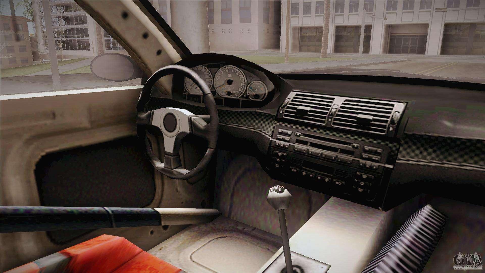 NFS: MW - BMW M3 GTR (E46) Hidden Vinyl Version for GTA ...
