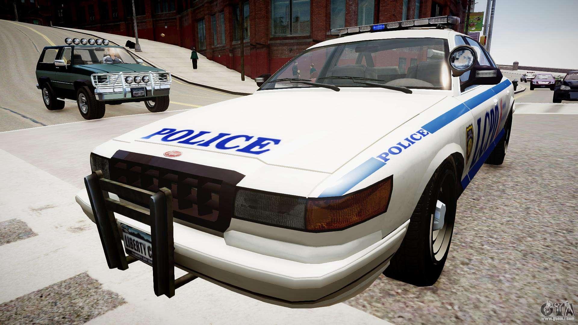 Police Cruiser [ELS] for GTA 4
