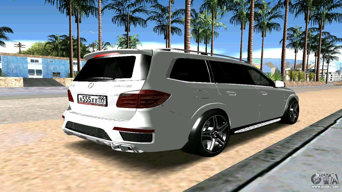 Mercedes benz gl63 amg for gta san andreas for Is a mercedes benz a good car