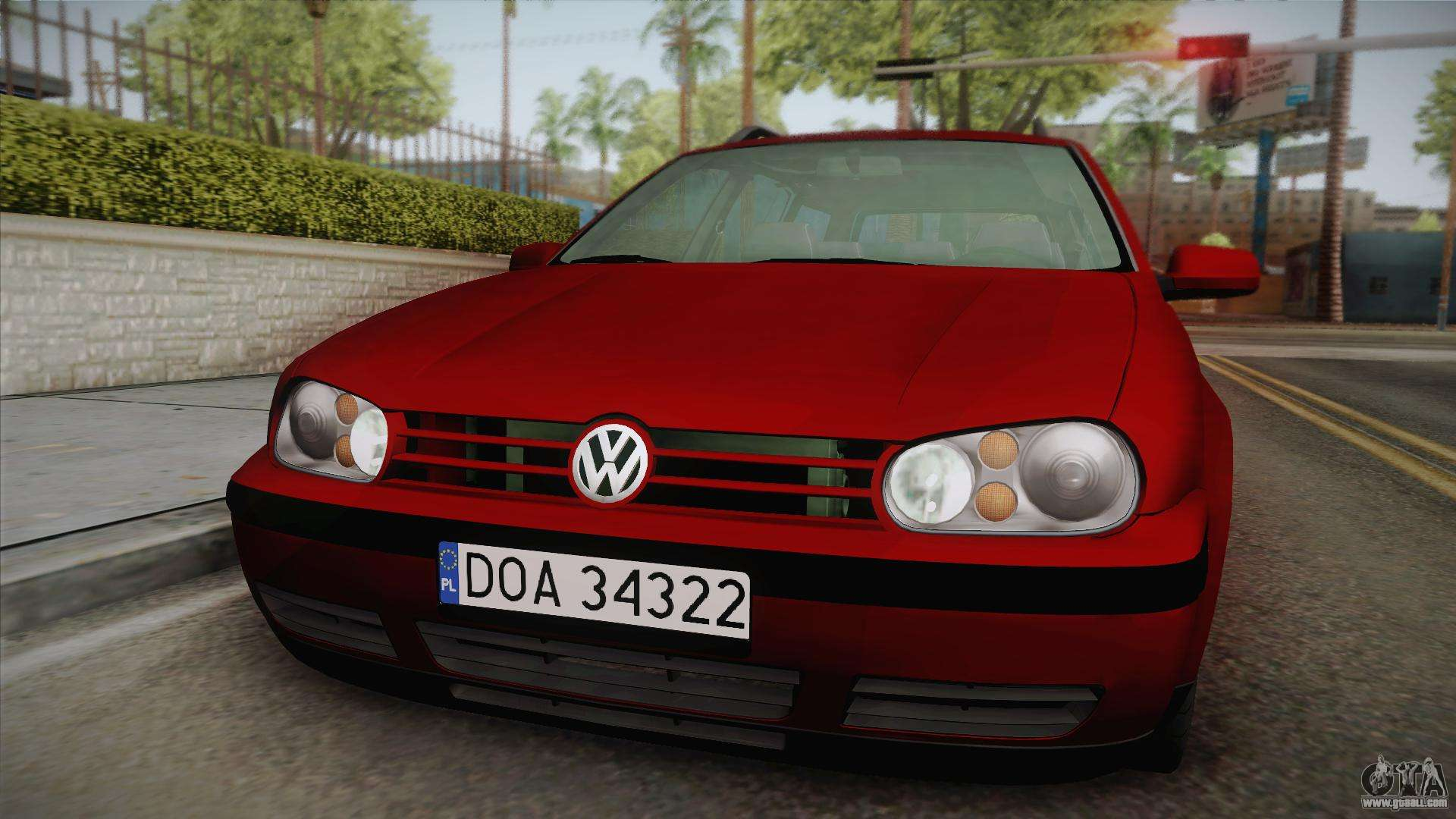 volkswagen golf 4 variant 1 8 t for gta san andreas. Black Bedroom Furniture Sets. Home Design Ideas