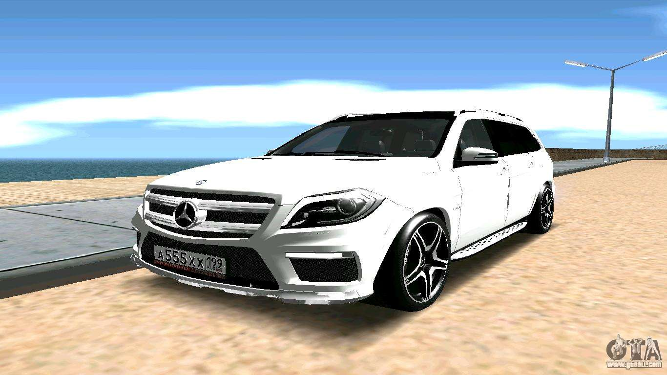 Mercedes benz gl63 amg for gta san andreas for Mercedes benz gl63