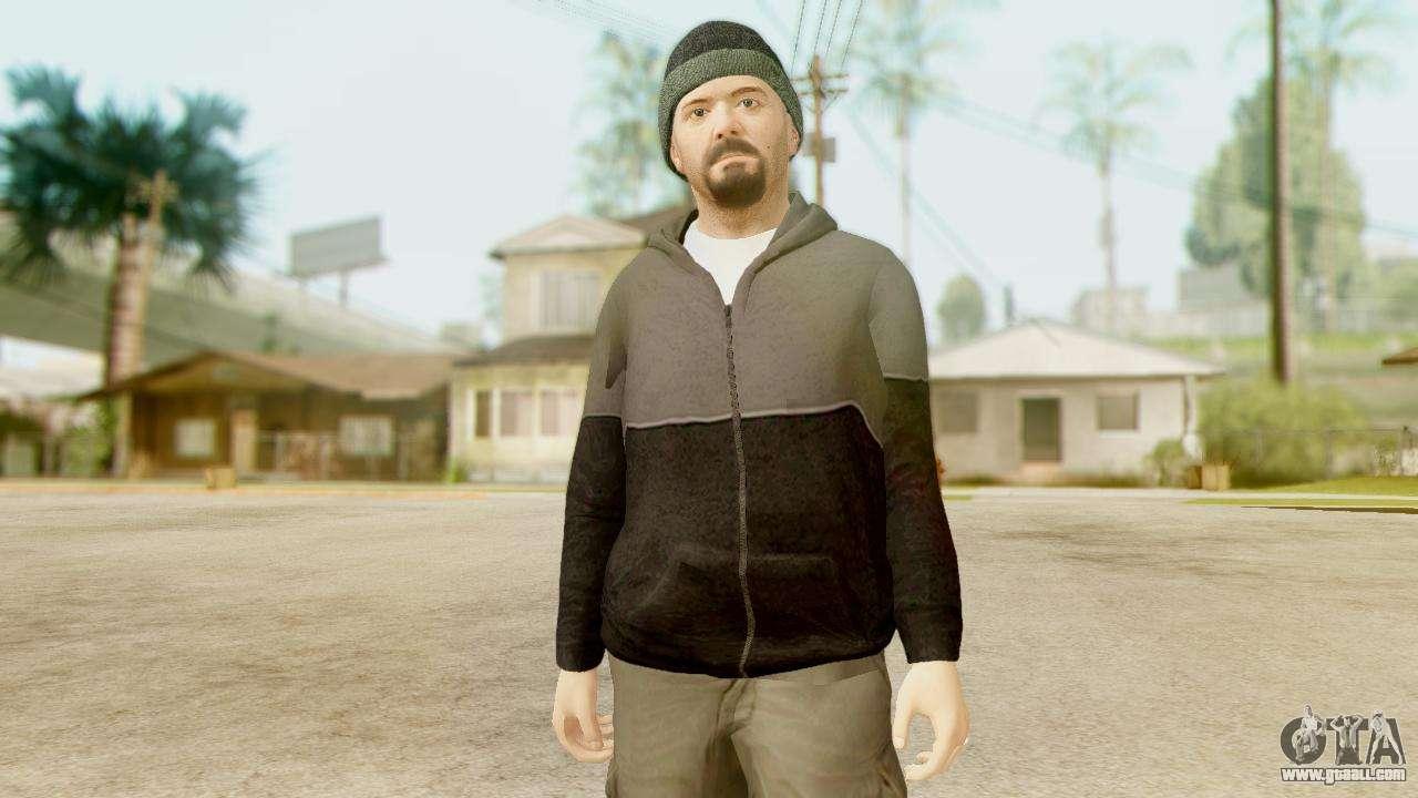 GTA 5 Michael Hoody for GTA San Andreas