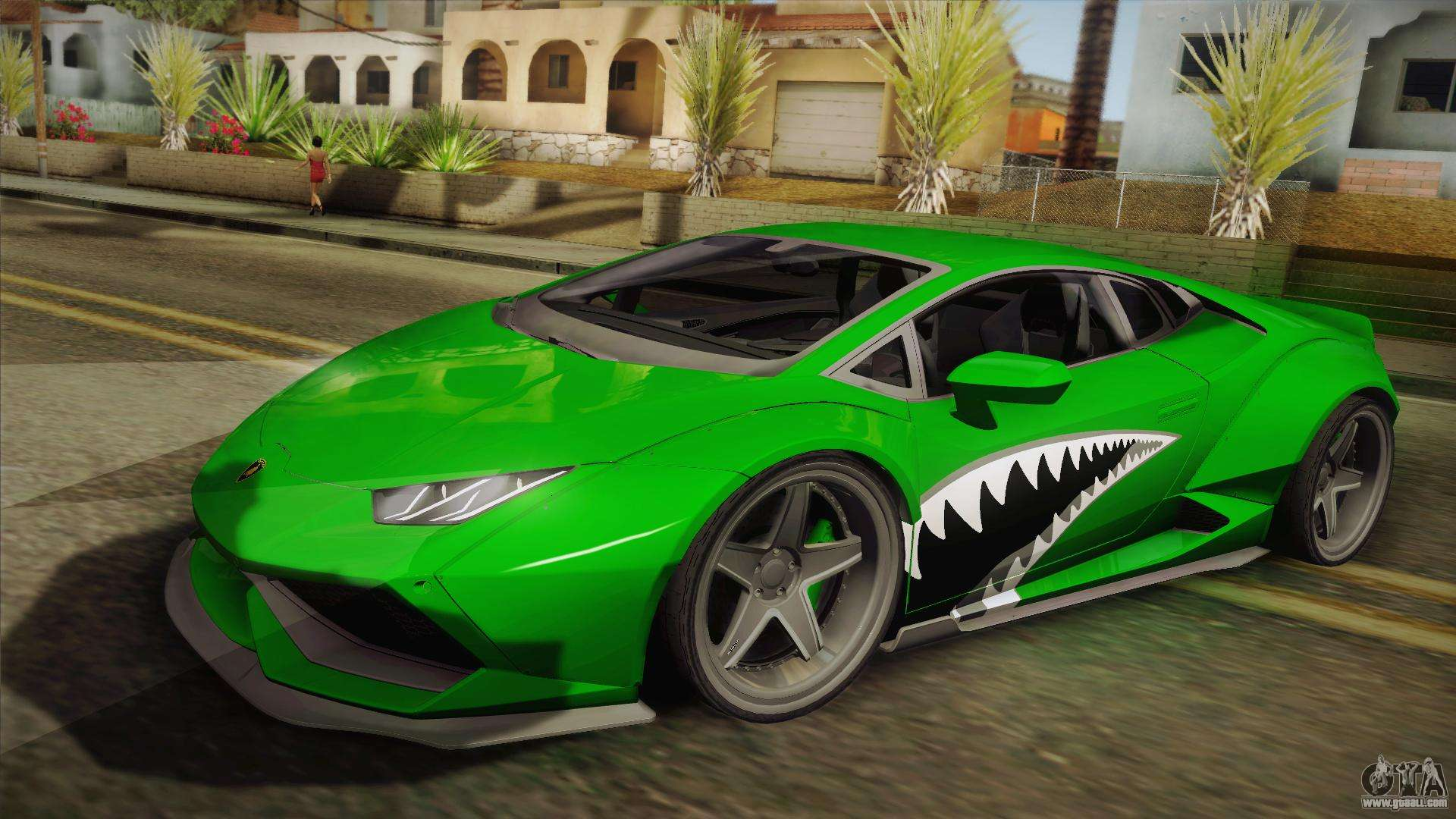 lamborghini huracan liberty walk for gta san andreas. Black Bedroom Furniture Sets. Home Design Ideas
