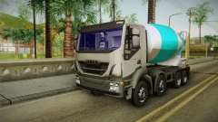 Iveco Trakker Hi-Land Cement Mixer 8x4 v3.0 for GTA San Andreas