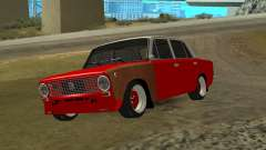VAZ 2101 red for GTA San Andreas