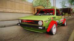 Volkswagen Golf Mk1 GTI 16v ITB v1.0 for GTA San Andreas