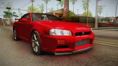 Nissan Skyline Tunable Pro Street v2 for GTA San Andreas
