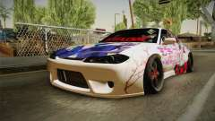 Nissan Silvia S15 Rocket Bunny Itasha for GTA San Andreas