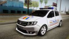 Dacia Sandero 2016 Romanian Police for GTA San Andreas