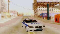 BMW M5 E60 white for GTA San Andreas