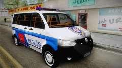 Volkswagen Transporter Turkish Police