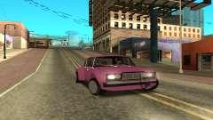 2107 fuchsia for GTA San Andreas