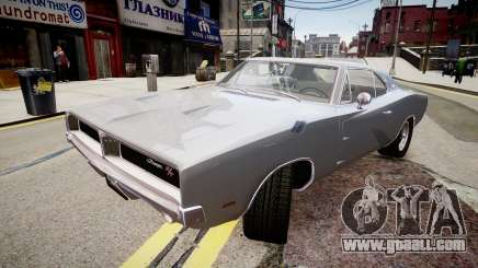 Dodge Charger RT 1969 for GTA 4