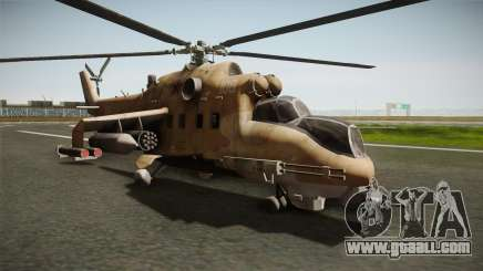 CoD Series - Mi-24D Hind Desert for GTA San Andreas