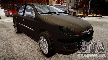 Peugeot 206 SD for GTA 4