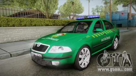 Skoda Superb Border Patrol for GTA San Andreas