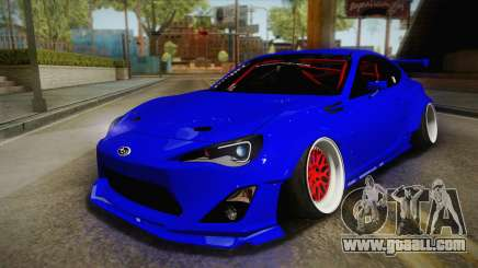 Subaru BRZ 2013 Rocket Bunny Slammed for GTA San Andreas