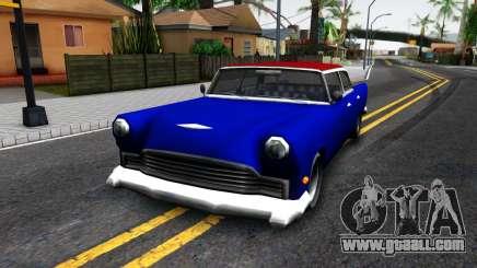 New car in style SA for GTA San Andreas