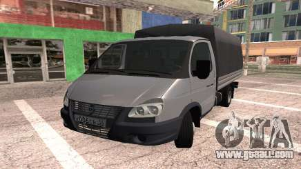 Gazelle Turbo diesel for GTA San Andreas
