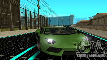 Lamborgini Aventador for GTA San Andreas