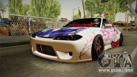 Nissan Silvia S15 Rocket Bunny Itasha for GTA San Andreas