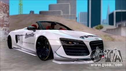Audi R8 Spyder 5.2 V10 Plus LB Walk DiCe for GTA San Andreas