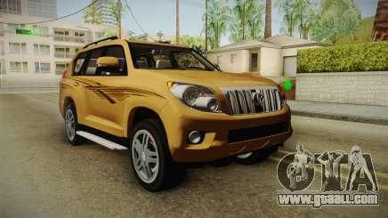 Toyota Land Cruiser Prado 2012 for GTA San Andreas