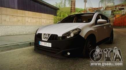 Nissan Qashqai for GTA San Andreas