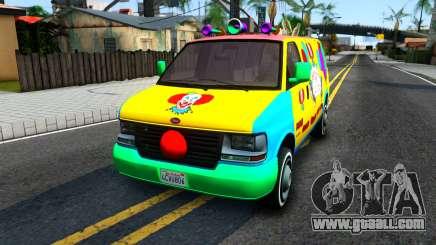 GTA V Vapid Clown Van for GTA San Andreas