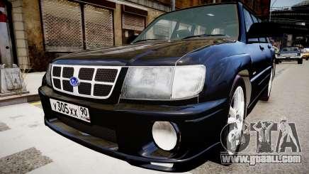 Subaru Forester 1997 v1.0 for GTA 4