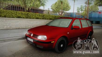 Volkswagen Golf 4 Variant 1.8 T for GTA San Andreas