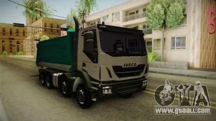 Iveco Trakker Hi-Land Dumper 8x4 v3.0 for GTA San Andreas