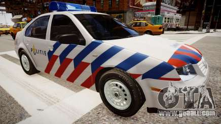 Volkswagen bora police for GTA 4