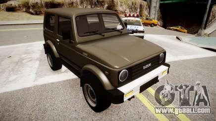 Suzuki Samurai v1.0 for GTA 4