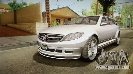 GTA 5 Benefactor Schafter Wagon for GTA San Andreas