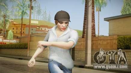 GTA 5 Online Skin Female Mail for GTA San Andreas