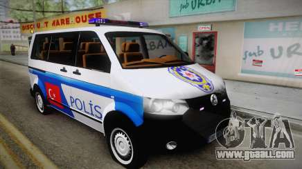 Volkswagen Transporter Turkish Police for GTA San Andreas